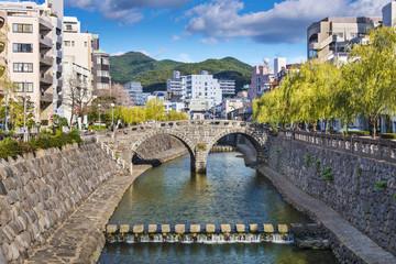 Nagasaki, Japan at Spectacles Bridge