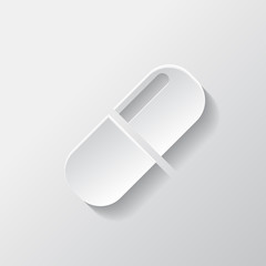 Medical pills icon