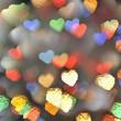 corazones luminosos