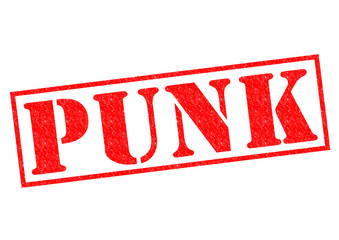 PUNK Rubber Stamp