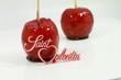 duo de pommes rouges