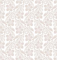 Royal floral seamless wallpaper