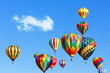 Colorful hot air balloons - 61717909