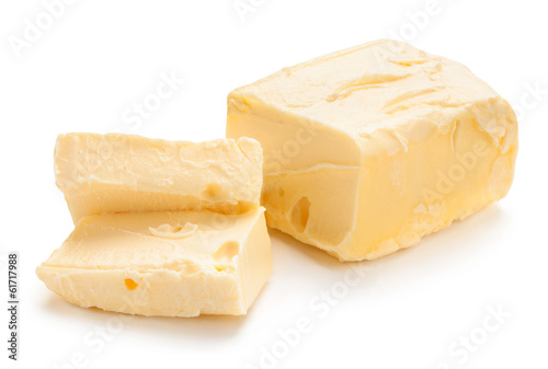 butter isolated