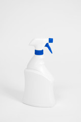 detergent bottles, white plastic bottle