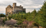 Medieval castle of Loarre,Aragon, Spain