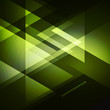 Elegant Geometric Green Background