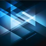 Fototapety Elegant Geometric Blue Background
