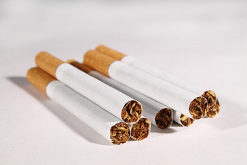 group of cigarettes