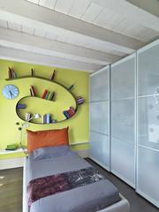 moderna camera da letto per ragazzi