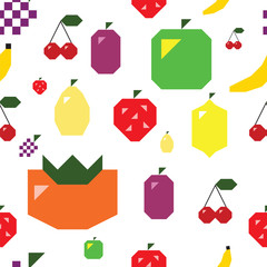 Simple Fruit seamless textute