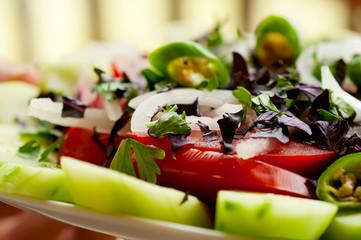 Georgian vegetable salad