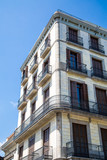 Wrought Iron around Balconies of Old Barcelona Hotel