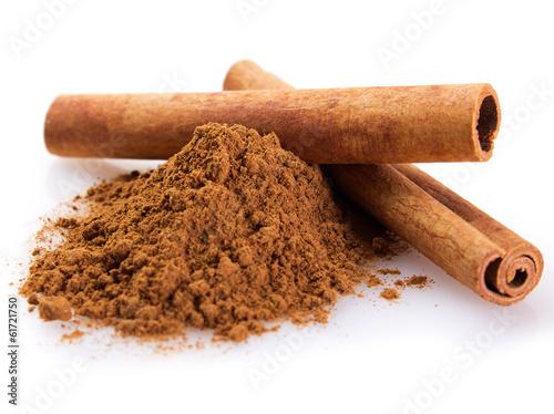 Fotobehang Spices Cinnamon