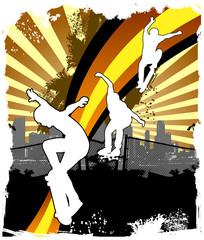 Skate banner