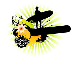 Surfer design