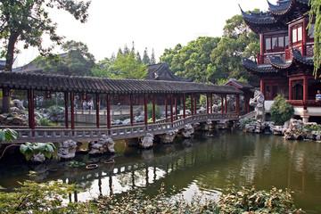 pavillon in Yuyuan gardens, Shanghai, China