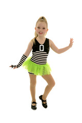 Tap Dancer Child in Jailhouse Rock Costume