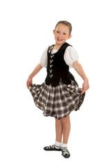 Happy Irish Dancer Girl