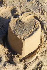 Sandcastle Heart