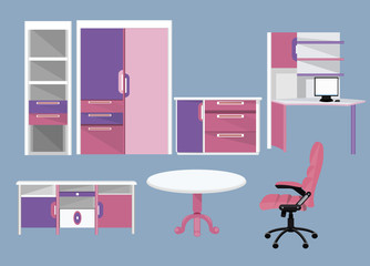 Flat Furniture icons