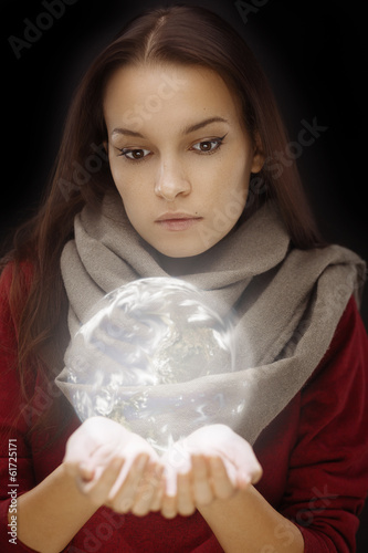 Sphere in hands