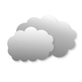 Clouds as weather icon