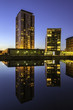 Modern architecture salford Quays Manchester