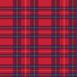 Rectangular tartan red fabric seamless texture