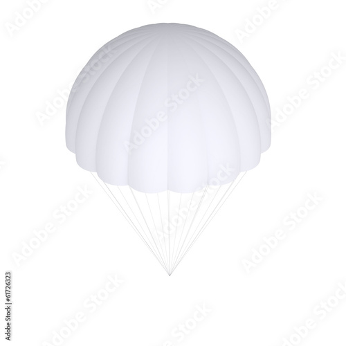 White parachute - 61726323