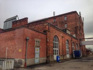 altes verlassenes Firmengebäude