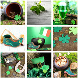 Patrick's Day collage