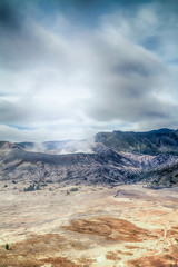landscape of Mount Bromo