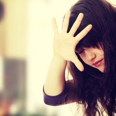 Abused teen