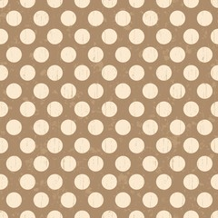 seamless polka dots texture background