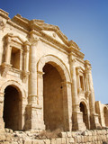 Hadrian's Arch, Entrance of Jerash, Jordan