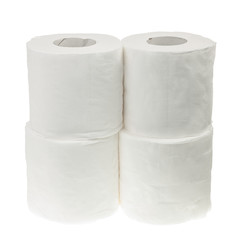 Four rolls of toilet paper