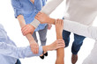 Group Of People Holding Hand