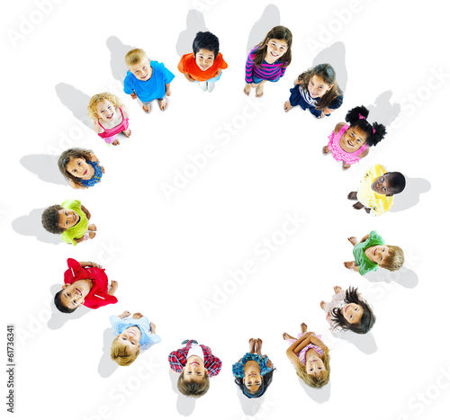 Diversity of Kids in a Circle