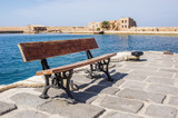 Bench in Chania