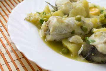 hake in green sauce