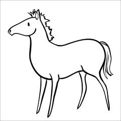 Silhouette Pony