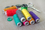 set sewing threads
