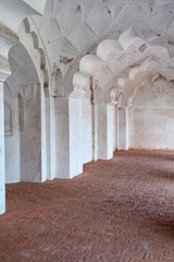 Pillar Gallery in Agra Fort