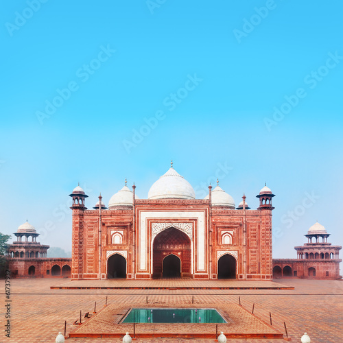 Side Building of Taj Mahal in Agra