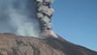 column of volcanic ash