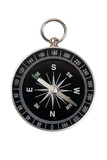 compass black on white background