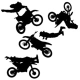 Fototapety vector silhouette fmx