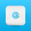 Mail apps icon on blue