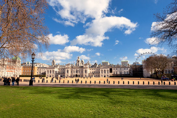 Horse Guards Parade in London 1